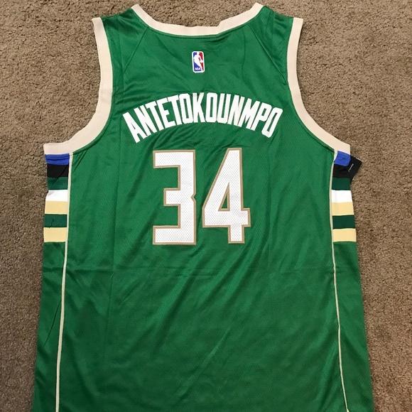 adf1cad2a Giannis Antetokounmpo Milwaukee Bucks Jersey XL